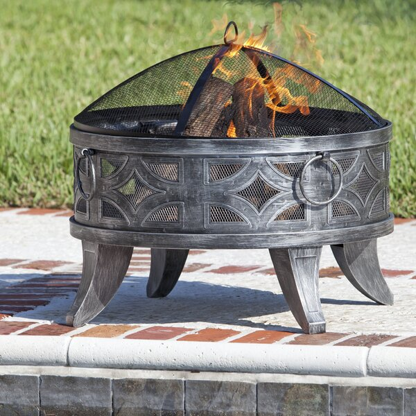 Firenzo Steel Wood Burning Fire Pit by Fire Sense