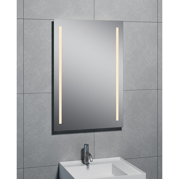 Divina 2-LED Wall Mirror by Orren Ellis
