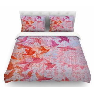 Bird's Dream by Marianna Tankelevich Featherweight Duvet Cover