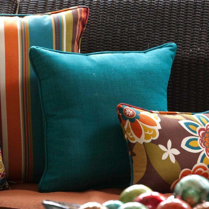 Pillow Perfect Rave Indoor/Outdoor Floor Pillow | Wayfair