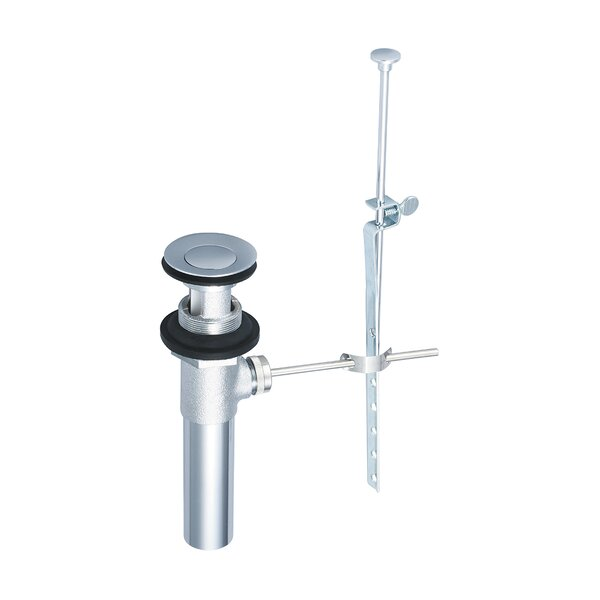 Pop-Up Bathroom Sink Drain With Overflow by Olympia Faucets