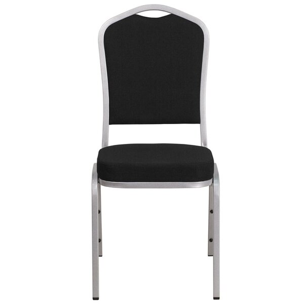 Buster Crown Back Banquet Chair by Latitude Run