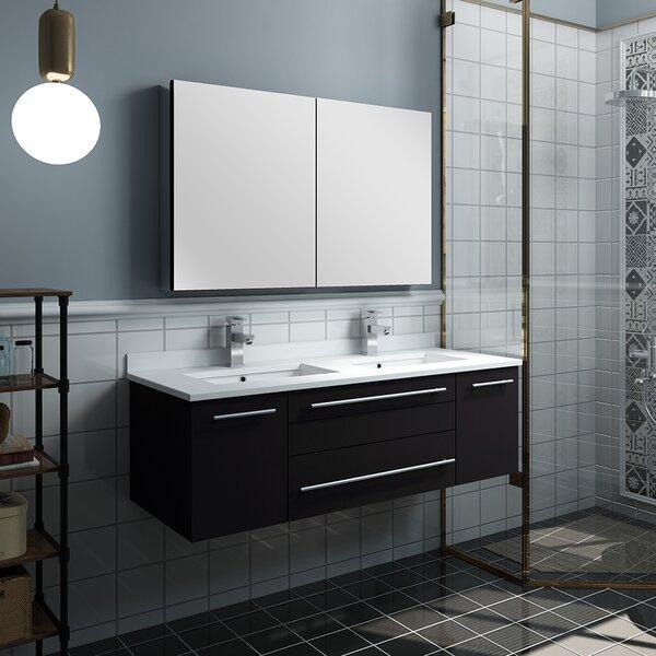 Lucera 48 Double Bathroom Vanity