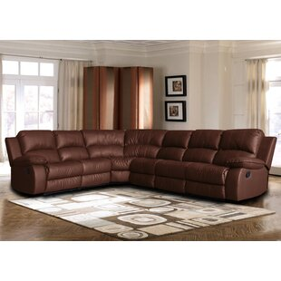 Kelleys Island Classic Reclining Sectional Red Barrel Studio