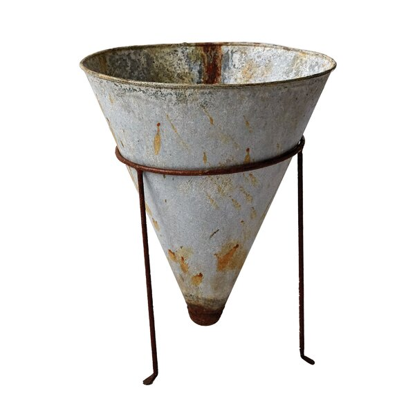 Hohl Tin Pot Planter by Williston Forge