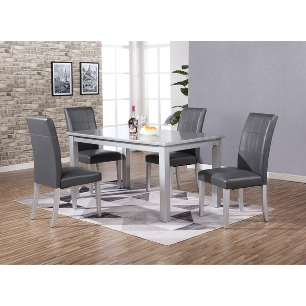 Aldama 5 Piece Dining Set by Ebern Designs