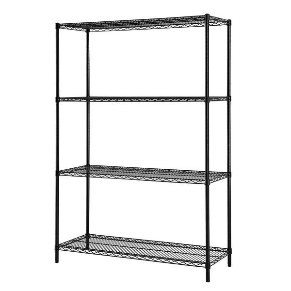 Enright All Purpose 4 Shelf Shelving Unit I by Rebrilliant