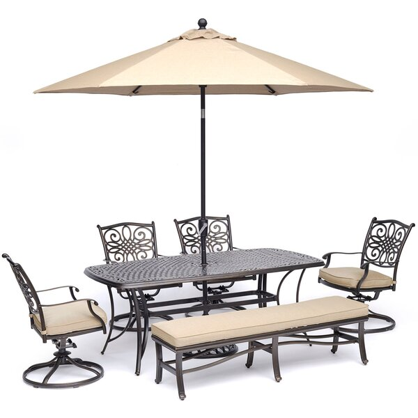 Ribeiro Traditions 6 Piece Dining Set by Astoria Grand