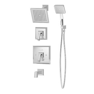 Inexpensive Oxford Pressure Balance Tub and Shower System with Lever Handle BySymmons