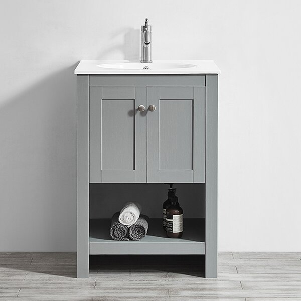 @ Bunch 24 Single Bathroom Vanity Set by Ebern Designs| #$598.00!