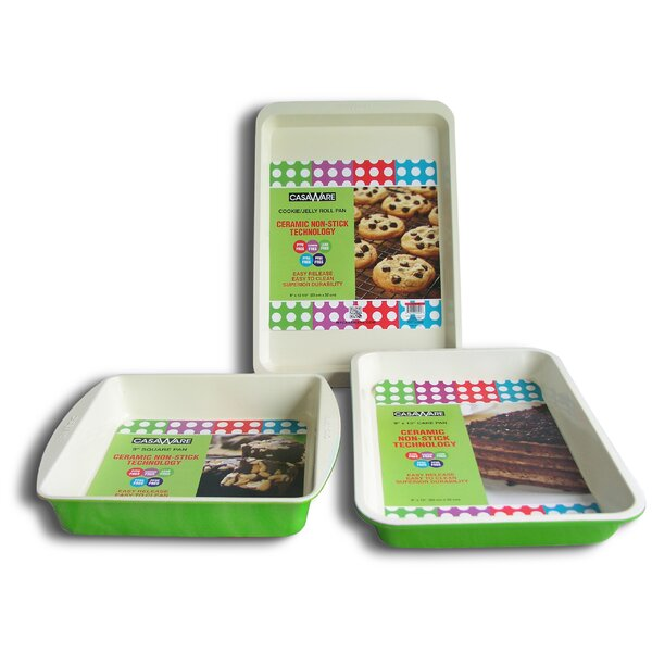 3 Piece Baking Dish Set by Casaware