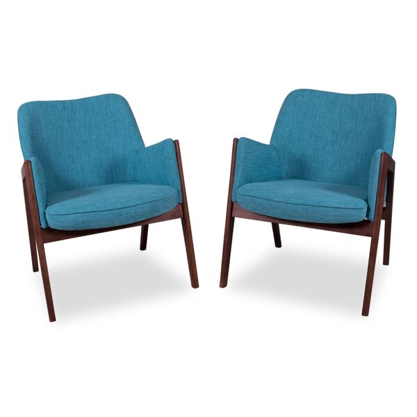 Liddell Armchair (Set of 2) by George Oliver