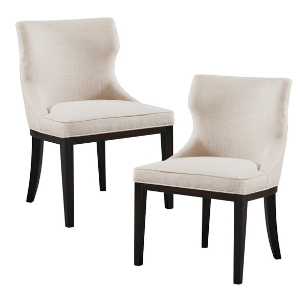Hutton Upholstered Dining Chair (Set Of 2) By Madison Park Signature Madison Park Signature