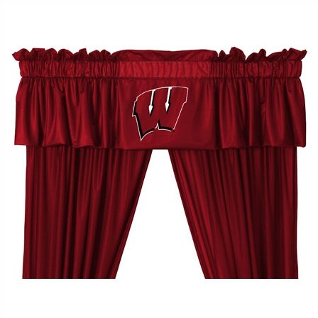 NCAA 88 Wisconsin Badgers Curtain Valance by Sports Coverage Inc.