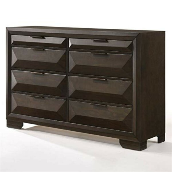 Nelsonville Wooden 8 Drawer Double Dresser by Ivy Bronx