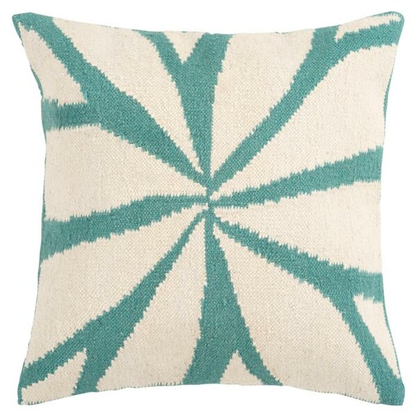 Kacem Throw Pillow Cover by Bungalow Rose