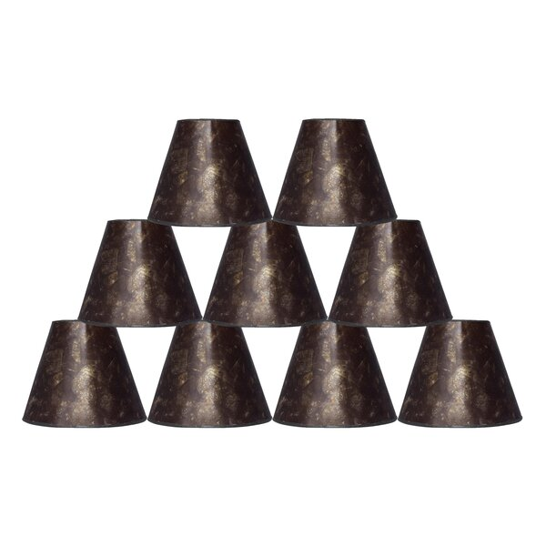 6 Mica Bell Lamp Shade (Set of 9) by Fleur De Lis Living