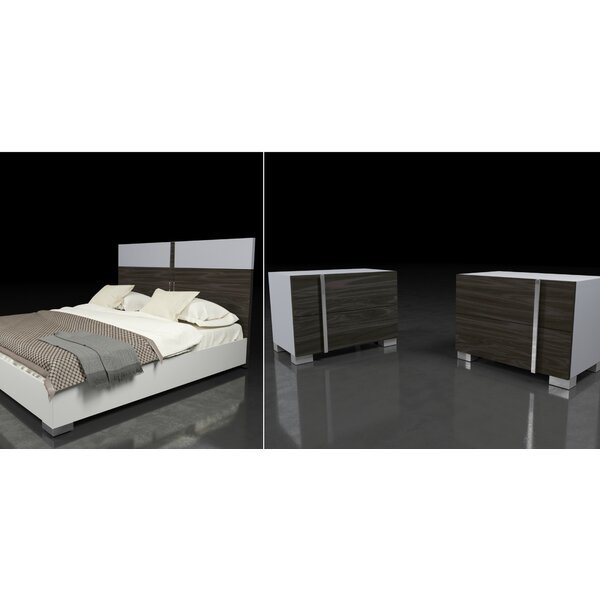 Cobbey Platform 3 Piece Bedroom Set by Wade Logan