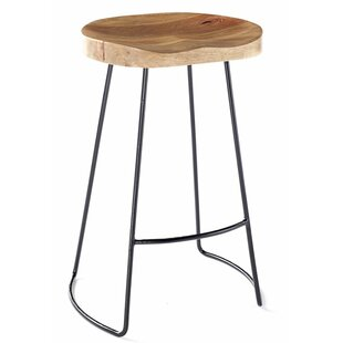 Wood Seat Bar Stools Wayfair Co Uk