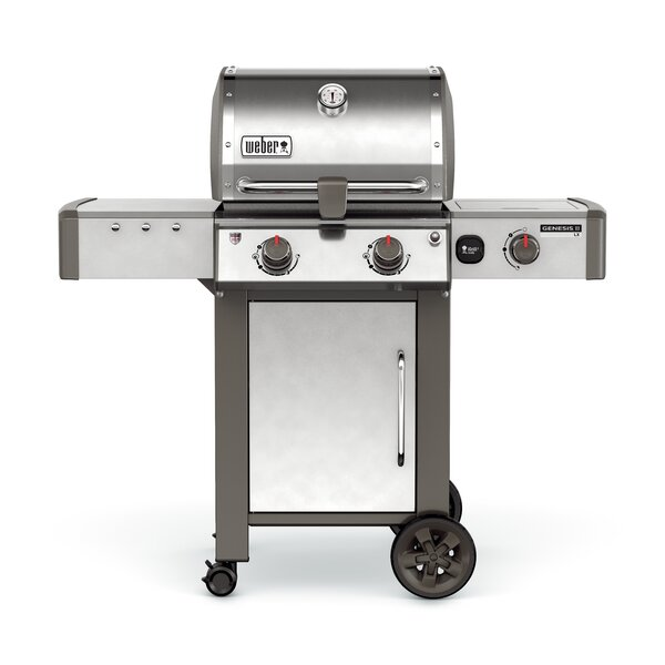 Genesis II LX S-240 2-Burner Natural Gas Grill with Side Burner by Weber
