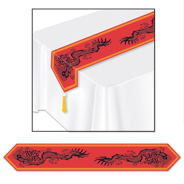 Asian Table Runner (Set of 3) by The Beistle Company