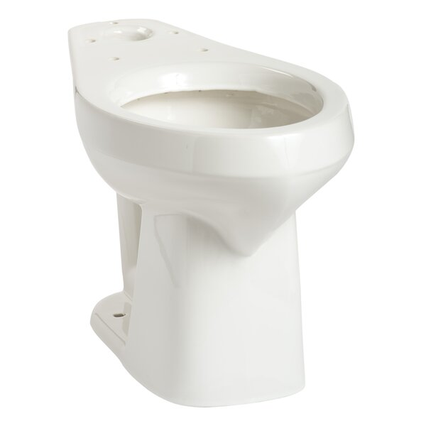 Alto SmartHeight Elongated Toilet Bowl by Mansfield Plumbing Products