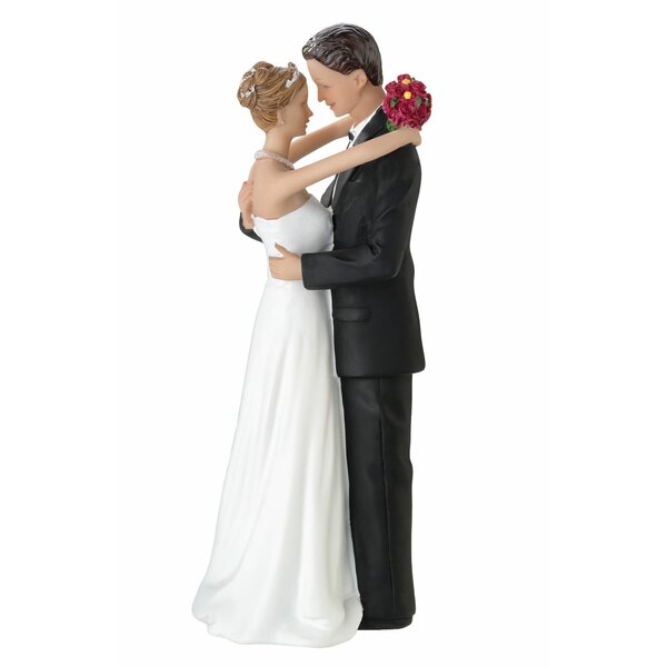 Bride and Groom Figurine by Lillian Rose