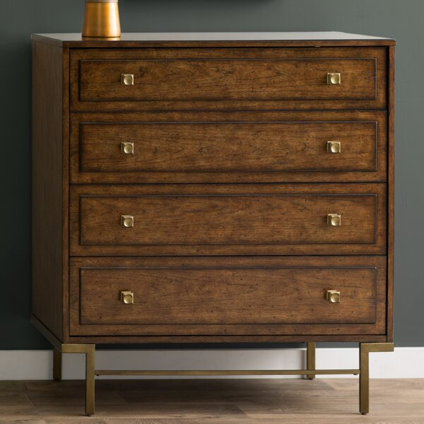 Copper Canyon 4 Drawer Dresser by Langley Street