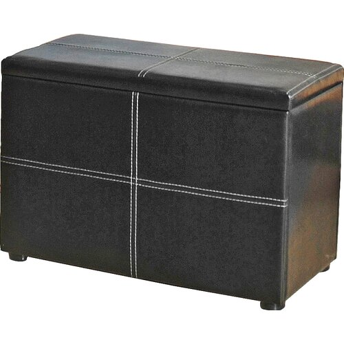 Upholstered Storage Bench Marlow Home Co.