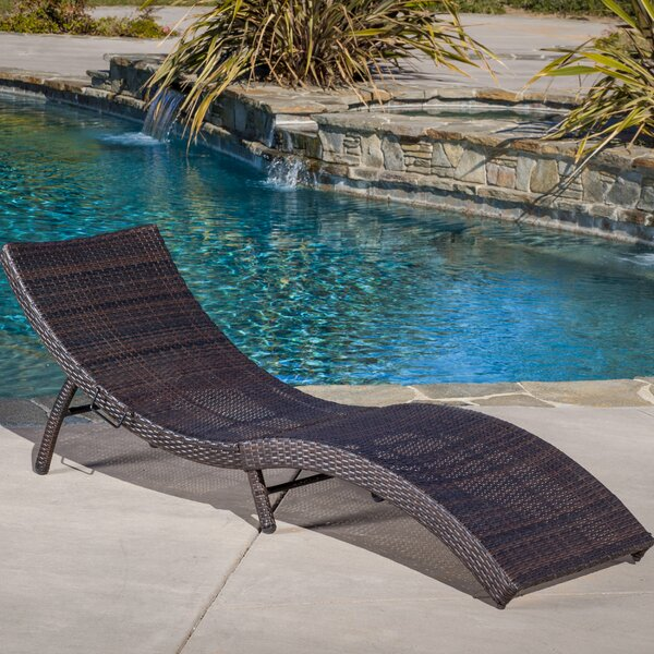 Lily Reclining Chaise Lounge by Brayden Studio Brayden Studio
