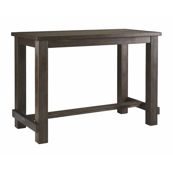 #1 Hedden Bar Height Pub Table By Charlton Home Great price