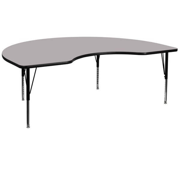 72 x 48 Kidney Activity Table by Flash Furniture