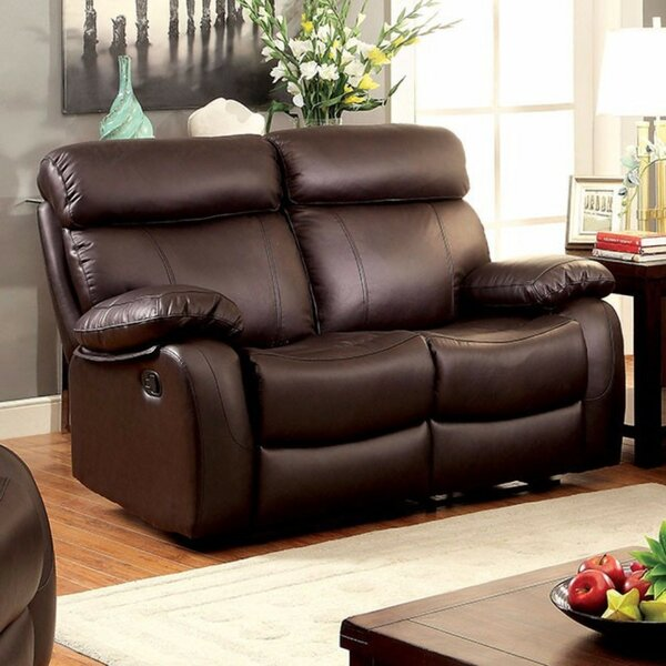 Carrigan Top Gain Reclining Love Seat by Red Barrel Studio