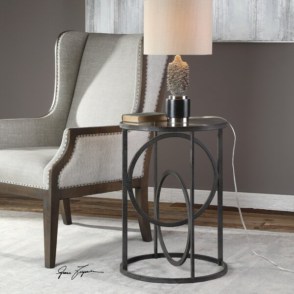 Caledonian End Table by Ivy Bronx