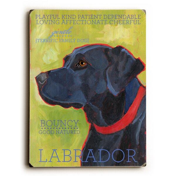 Labrador Vintage Advertisement by Artehouse LLC