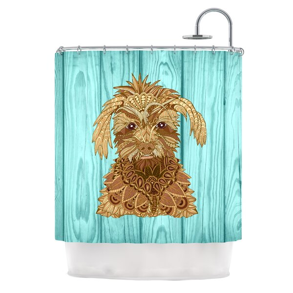 Gatsby the Great by Art Love Passion Dog Shower Curtain by East Urban Home