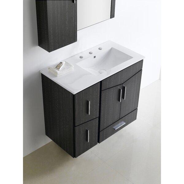 Keels 36 Wood Single Bathroom Vanity Set by Orren Ellis