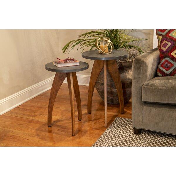 Erna 3 Legs End Table Set (Set Of 2) By Brayden Studio