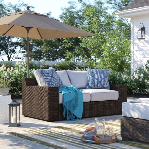 Oreland Loveseat with Cushions by Sol 72 Outdoor Sol 72 Outdoor