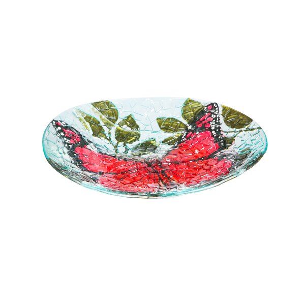 Butterfly Birdbath by Evergreen Flag & Garden