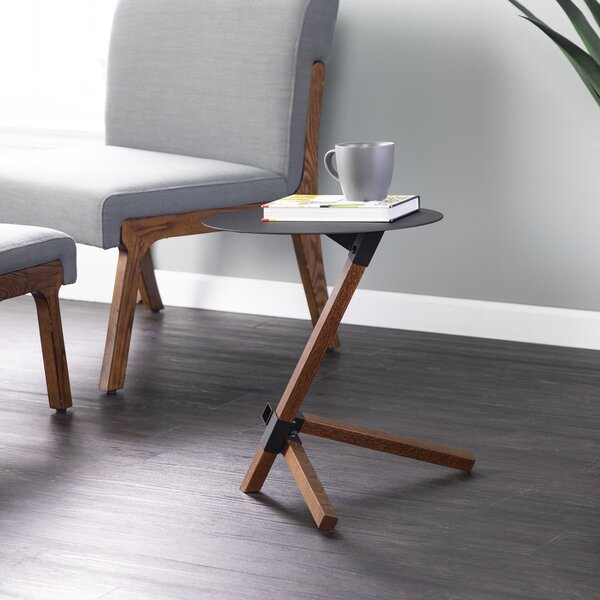 Steffes End Table by Ebern Designs