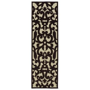 Covedale Machine Woven Chocolate Brown Indoor/Outdoor Area Rug By Charlton Home