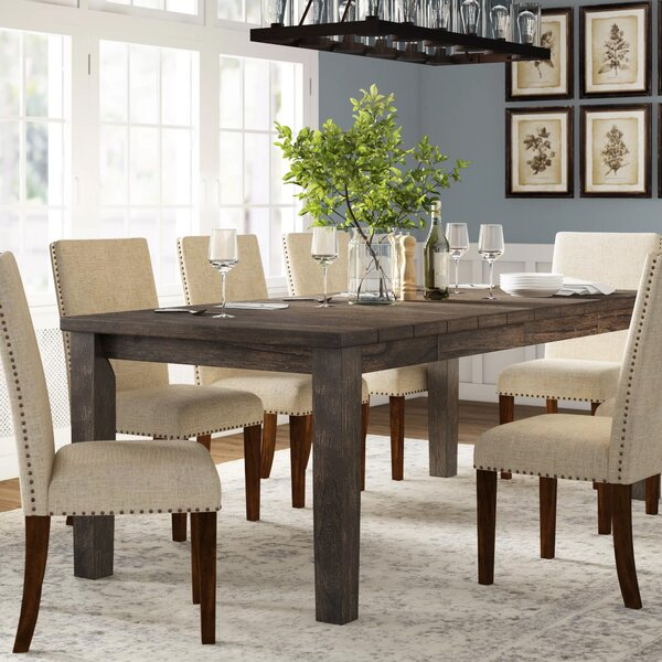 Burkhart Dining Table by Gracie Oaks