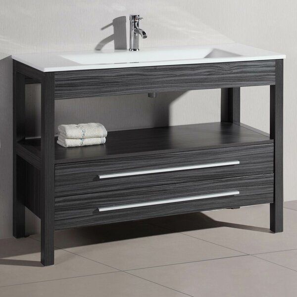48 Single Modern Bathroom Vanity by Belvedere Bath