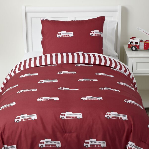 To the Rescue Reversible Duvet Set by Birch Lane Kids™