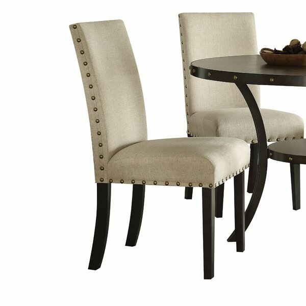 Shelly Upholstered Dining Chair (Set of 2) by Canora Grey