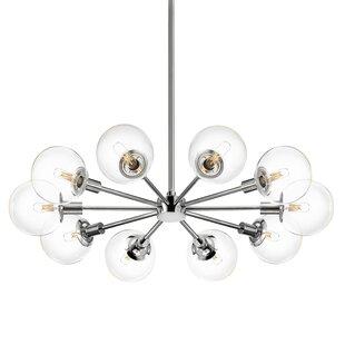 Cohen 10-Light Sputnik Chandelier ByBrayden Studio