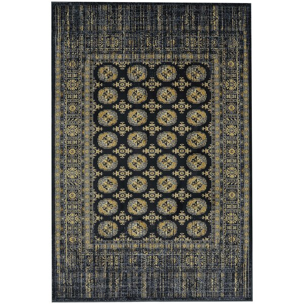 Providence Merrimack Black Area Rug by Mohawk Home