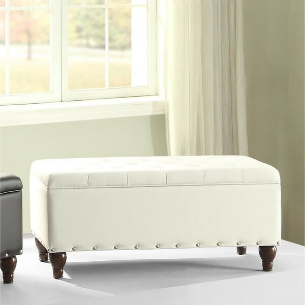 Rozell Upholstered Storage Bench by Charlton Home