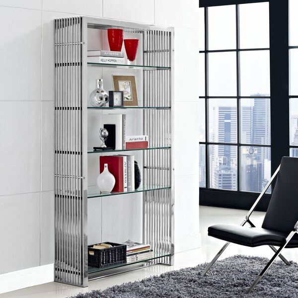 Ground Standard Bookcase by Modway